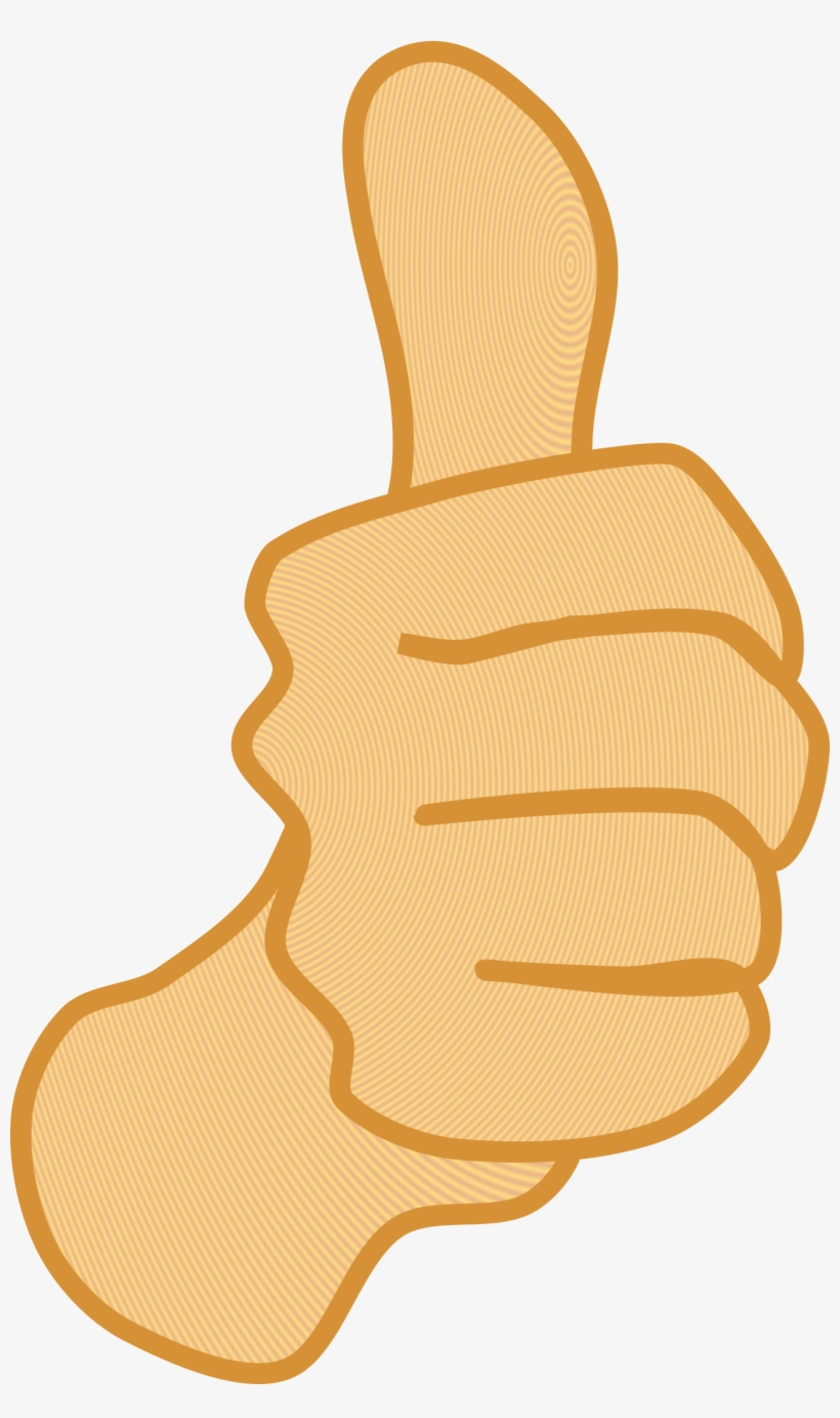 Clipart arm thumbs up. Thums hand vector clip