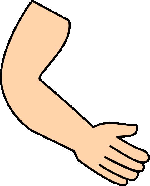 Arm hand clip.
