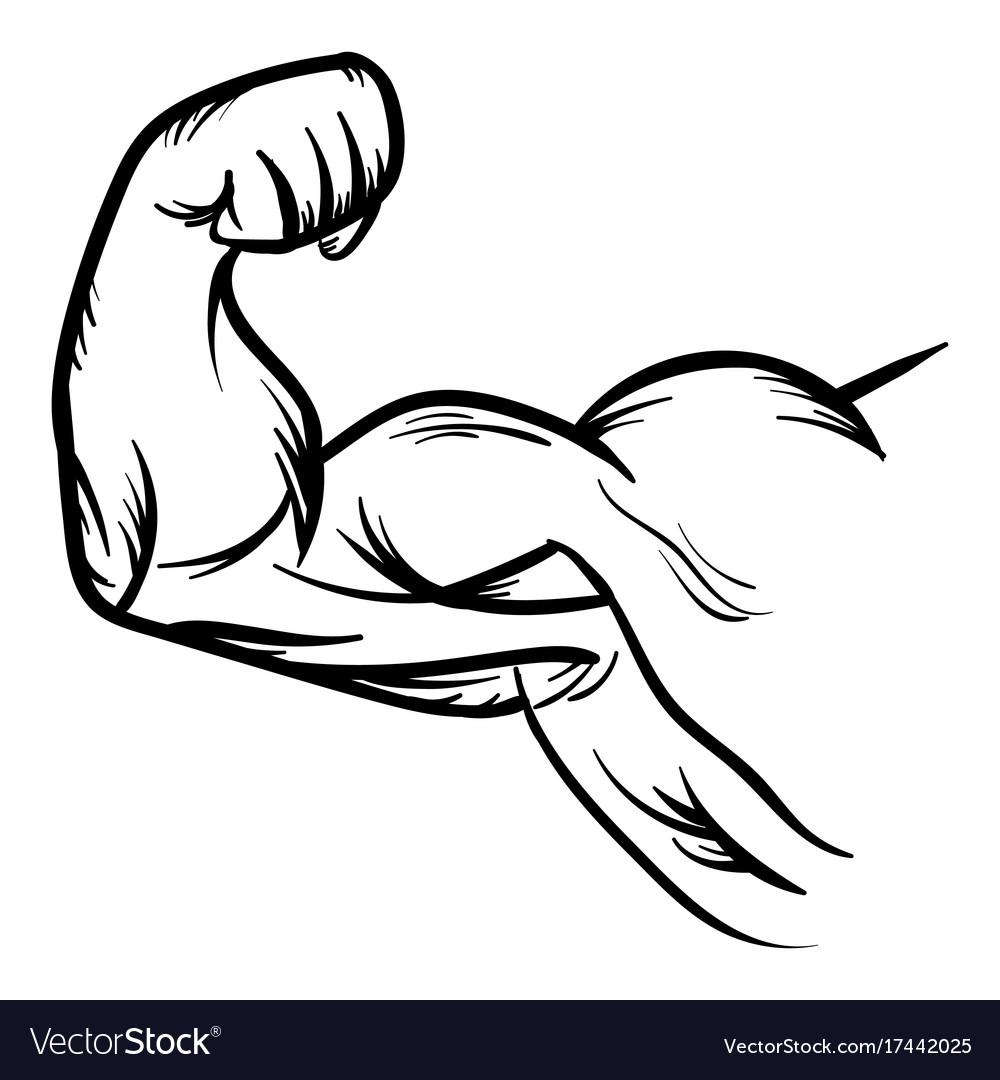 Arm Flex Icon