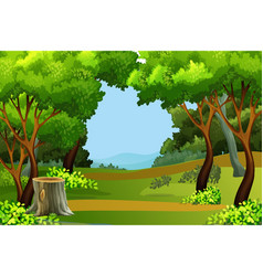 forest background clipart green