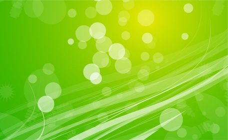 Free green abstract.