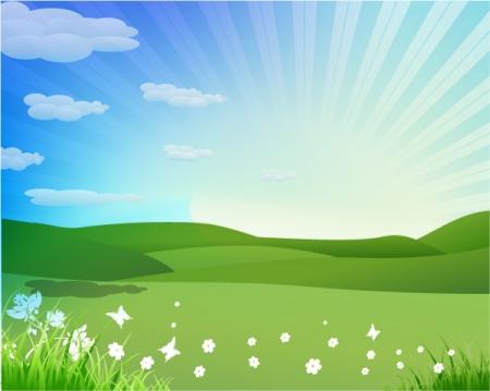 Free springtime background.