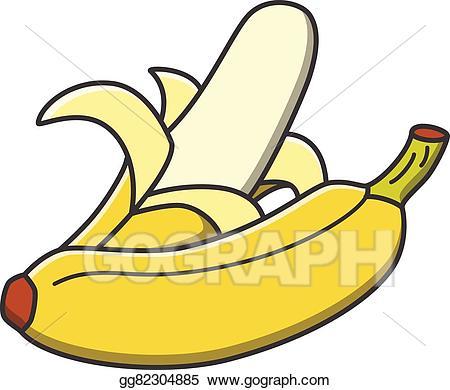 Vector clipart banana.