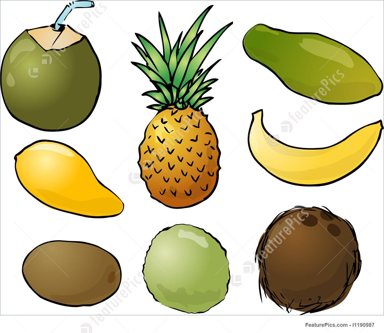Papaya Clipart banana