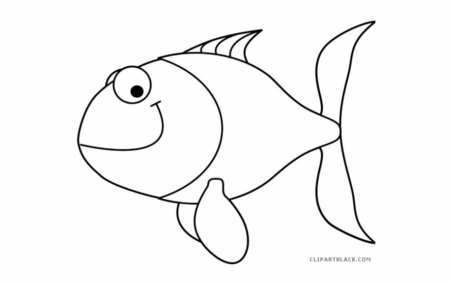 Cartoon fish clip.