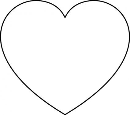 Free White Heart Cliparts, Download Free Clip Art, Free Clip