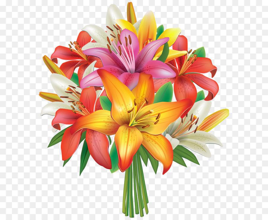 Blumenstrau clipart lilien.