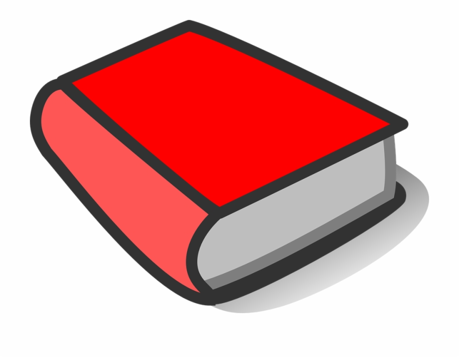 Blank Open Book Clip Art