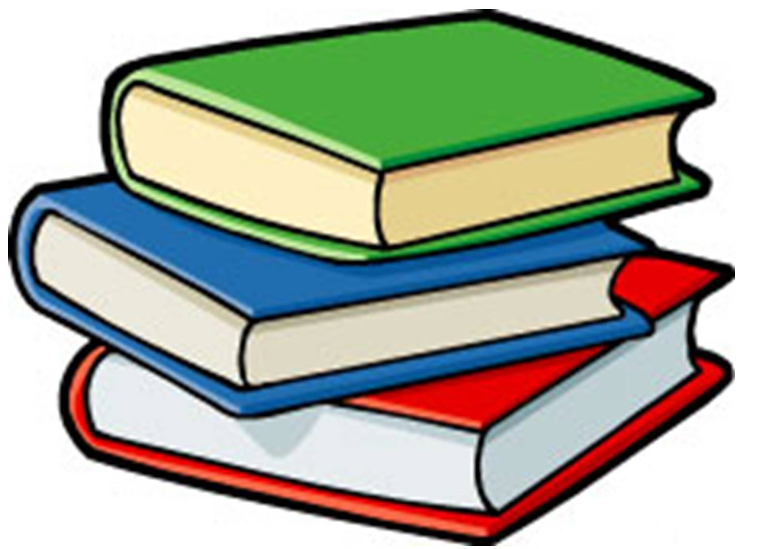 English book clipart