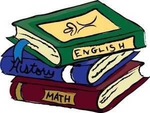 English class book.