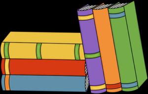 Happy books clipart.