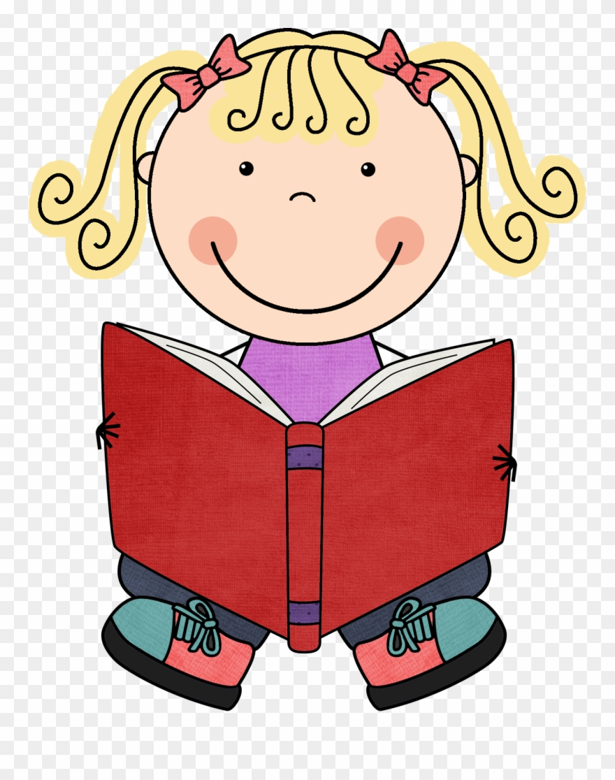 Clipart Child Book