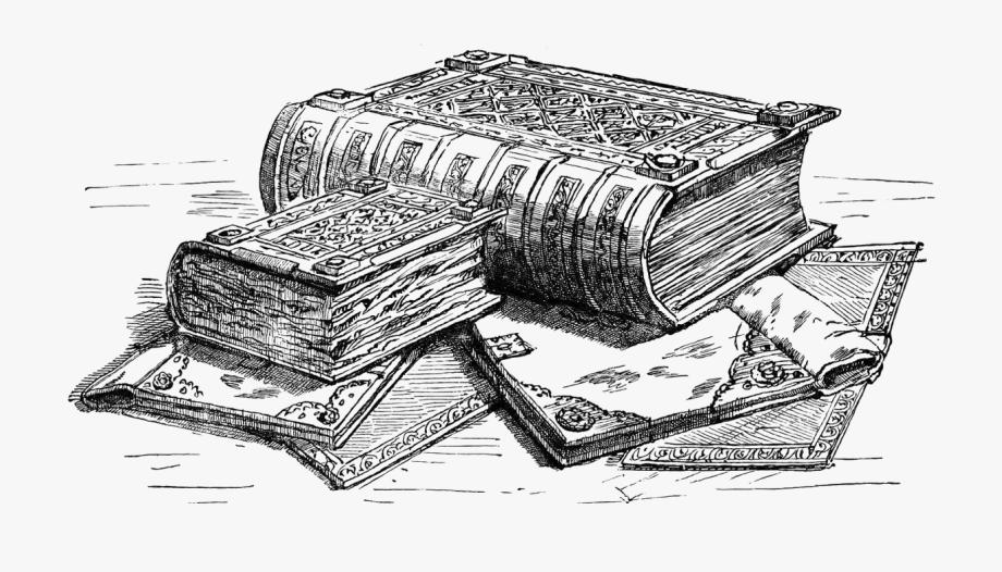Giant spell book.