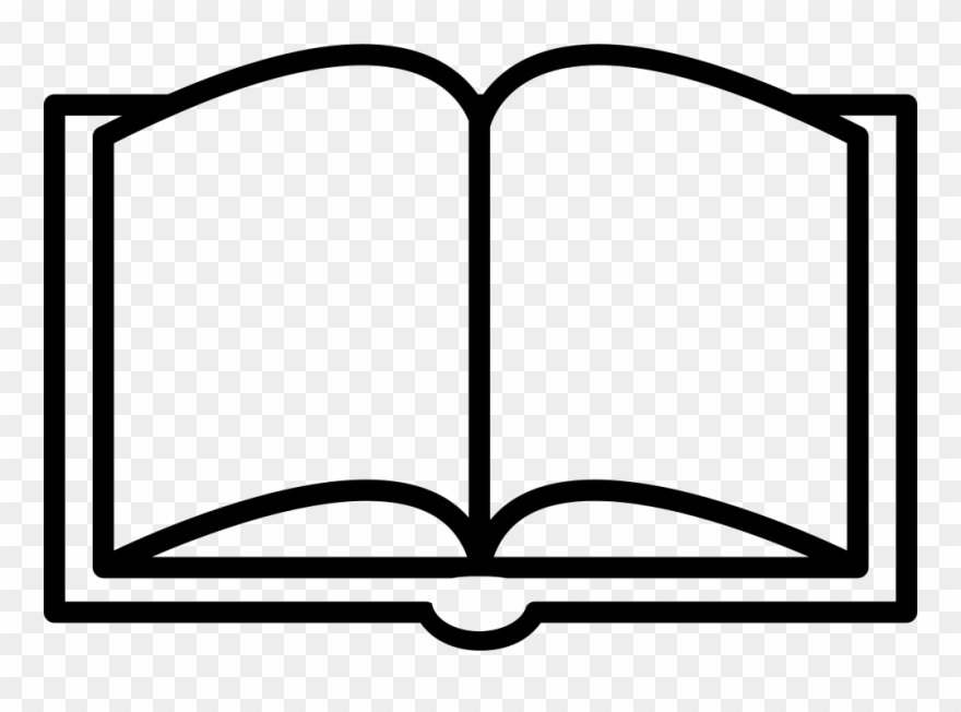 Image Transparent Books Svg Outline