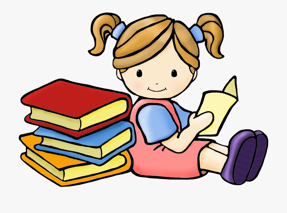 Reading clipart free.