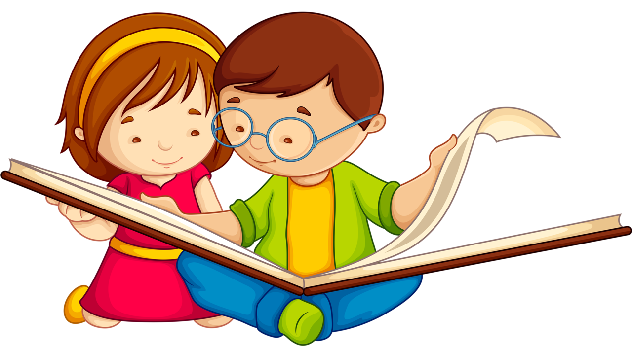 Clipart book reading, Clipart book reading Transparent FREE