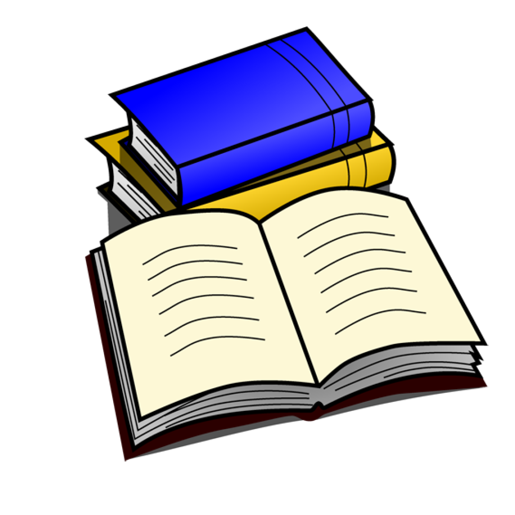 Clipart book teacher.