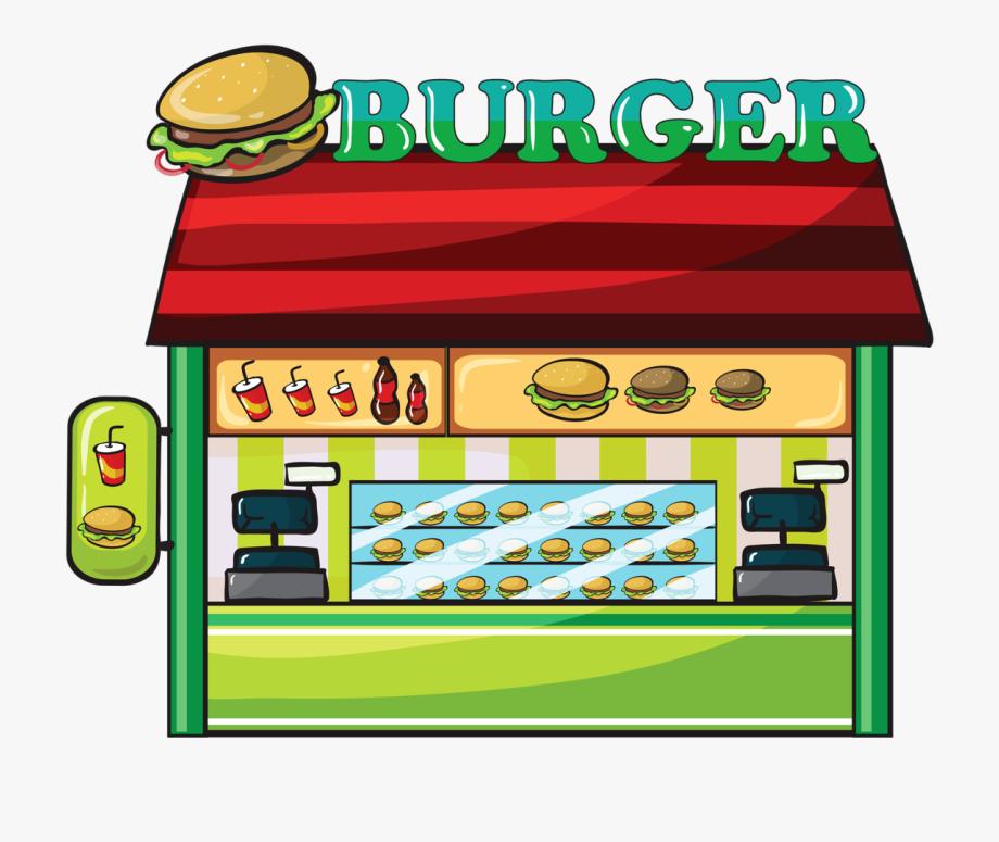 fast food clipart restaurant