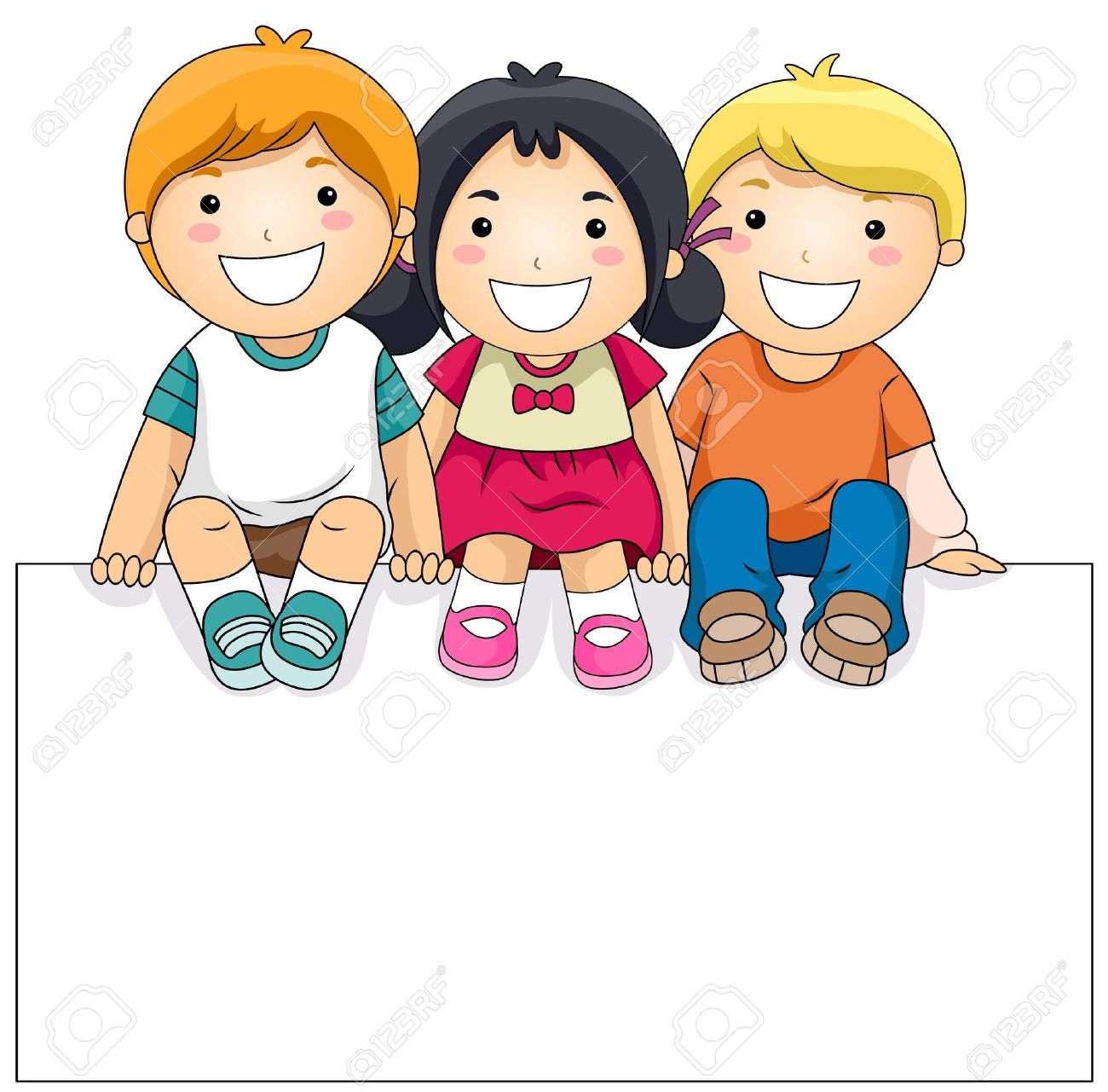 Children clipart kids.