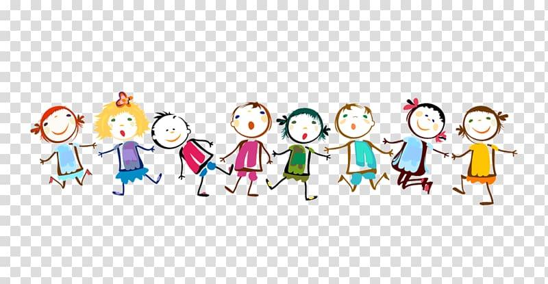 Line children graphic.