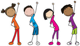 exercise clipart group