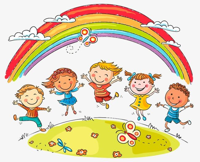 Rainbow children and.