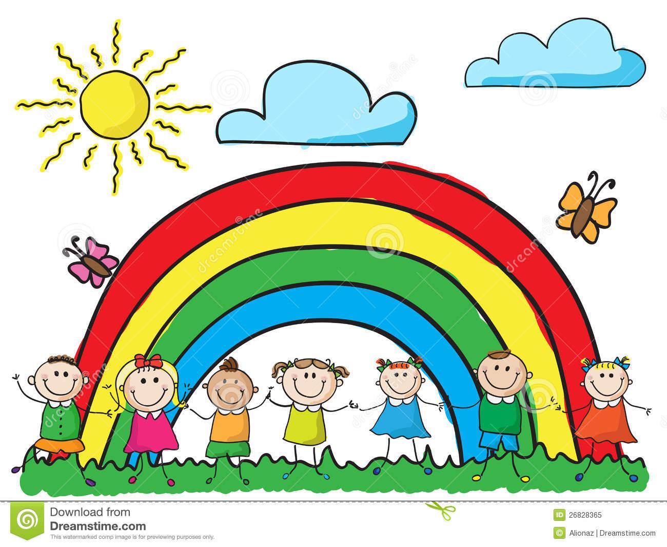 Rainbow clipart for.