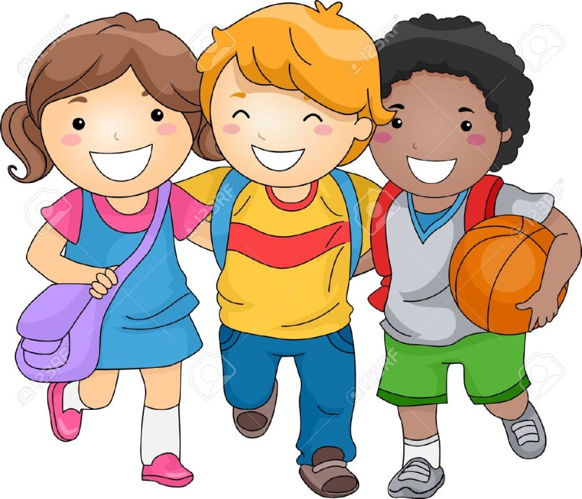 Children school clipart.