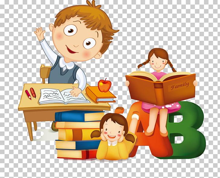 Student estudante learning.