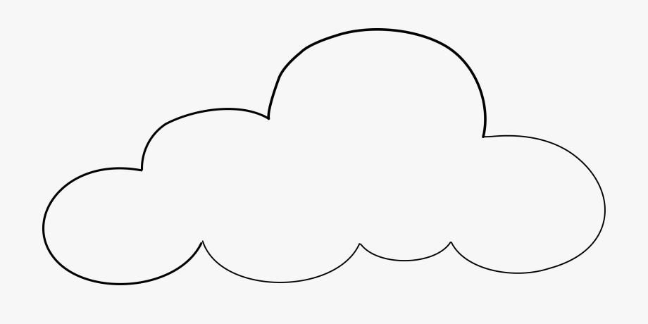 Cloud Clipart Sketch