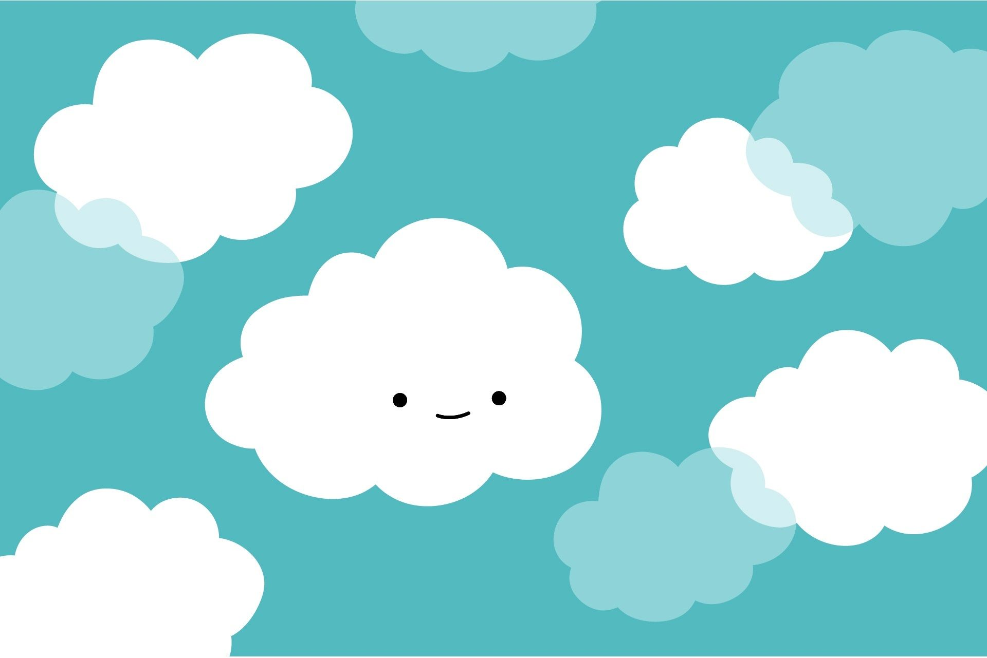 Cute cloud wallpapers.