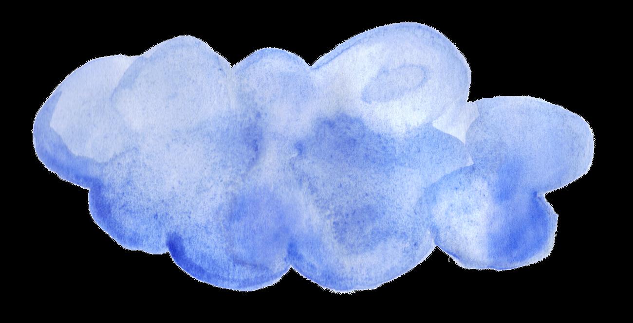 Cloud clipart watercolor, Cloud watercolor Transparent FREE