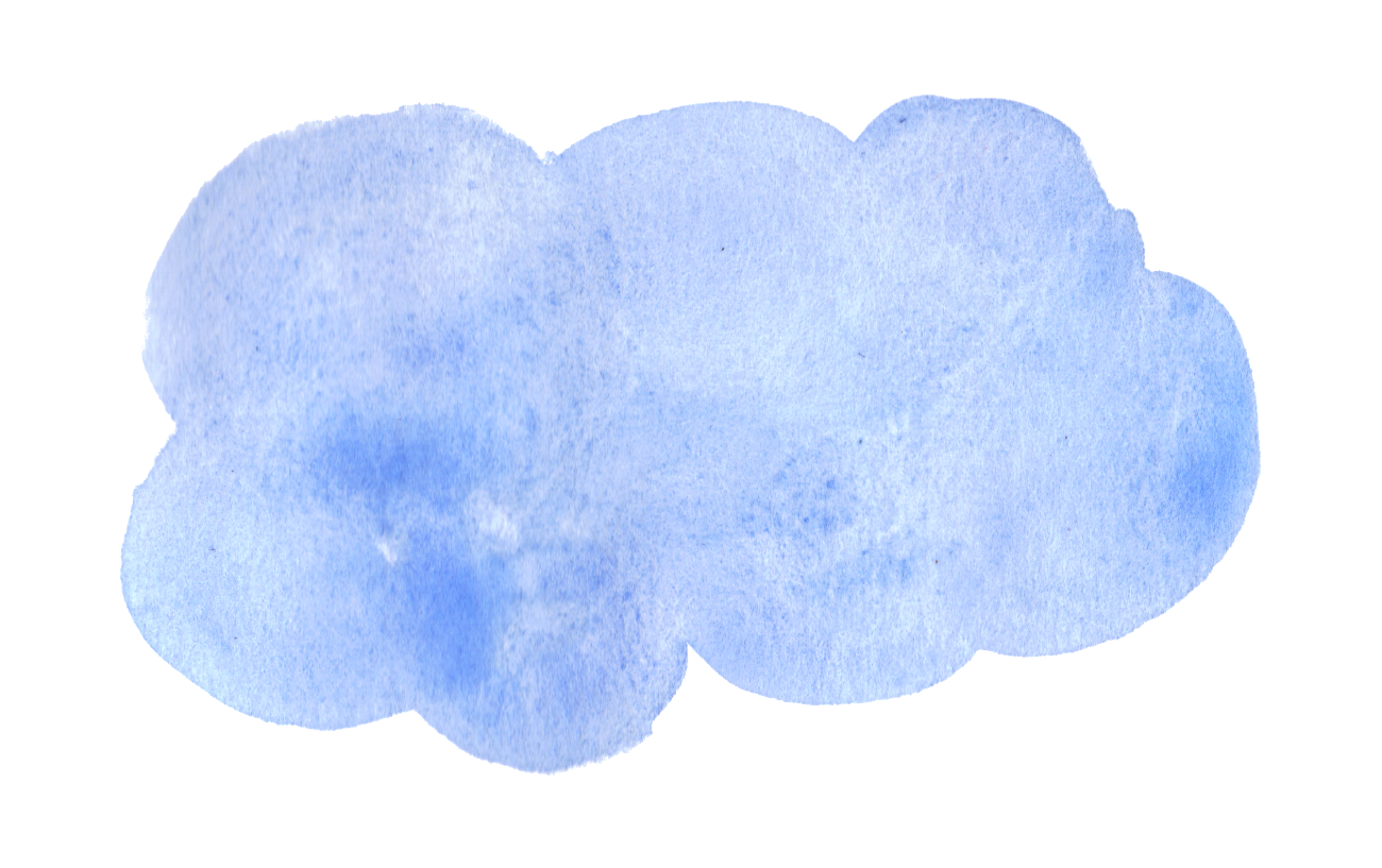 Clipart cloud watercolor, Clipart cloud watercolor