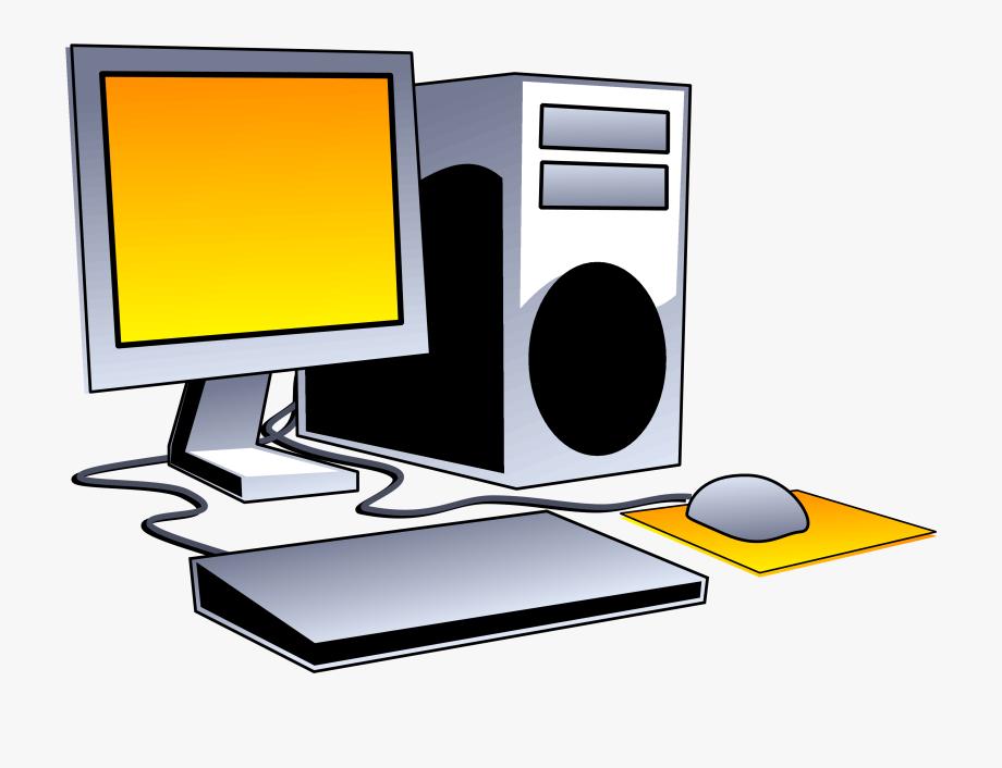 Desktop computer clip.
