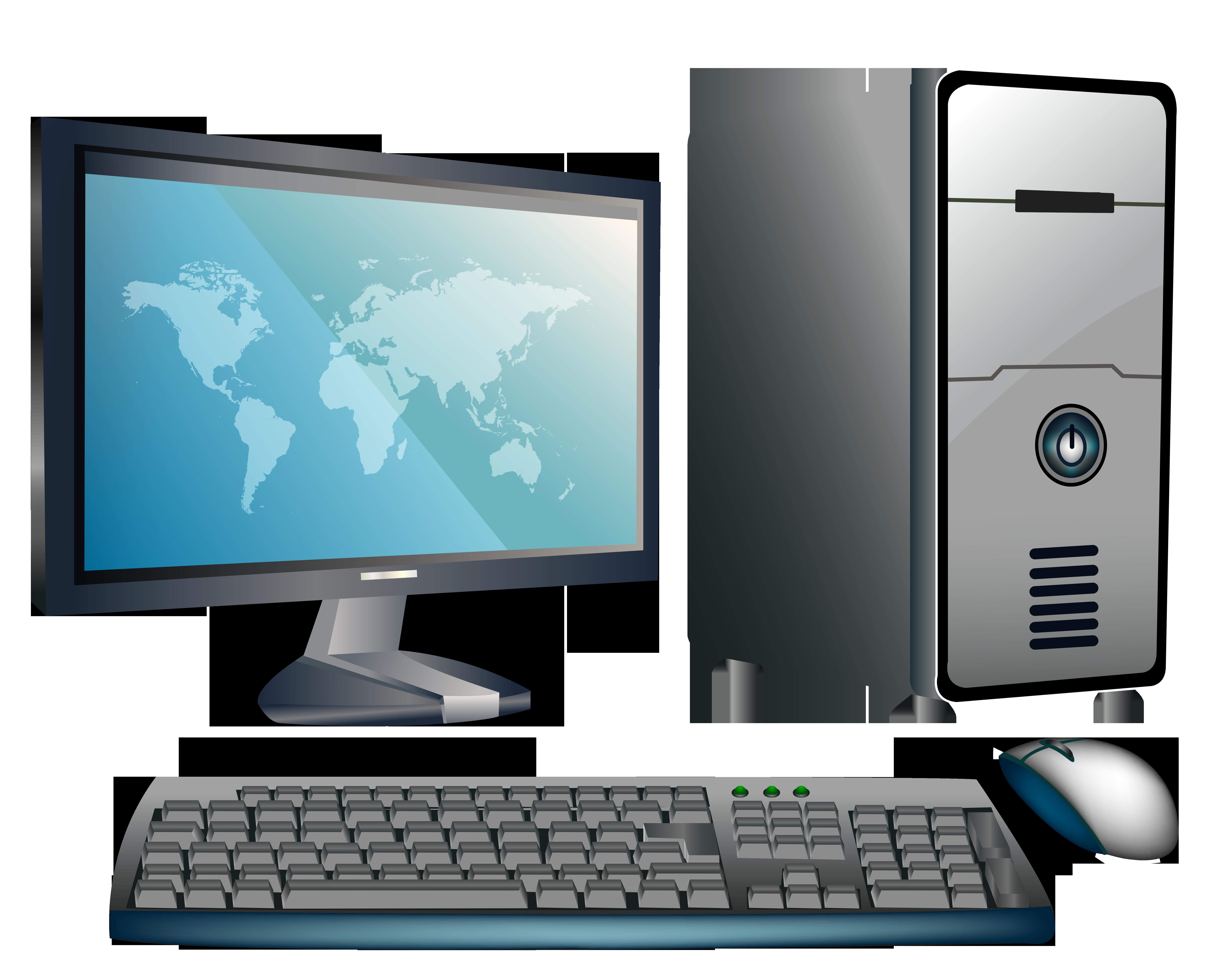 Desktop computer png.