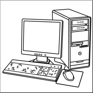 Clip art computer.