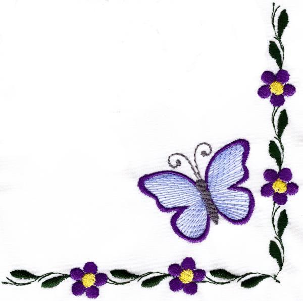Butterflies clipart corner, Butterflies corner Transparent