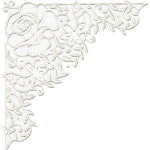 Free lace corner cliparts.