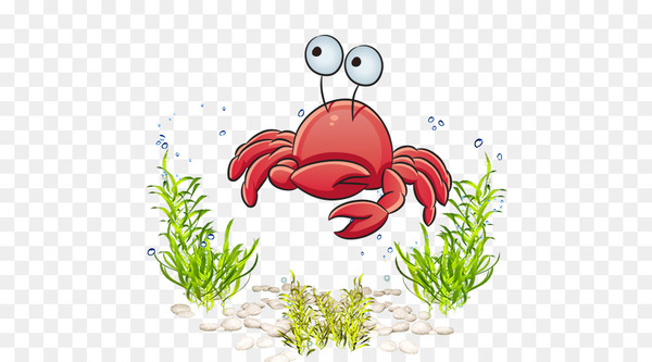 Marine life cartoon.
