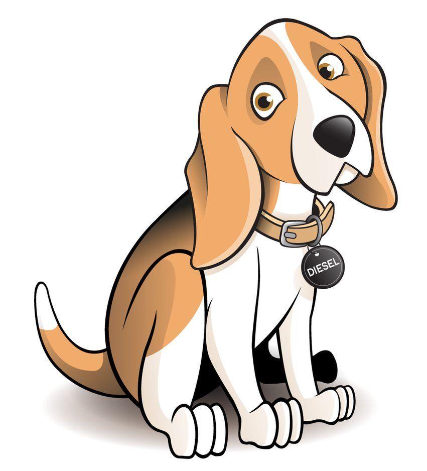 Dog clipart beagle.