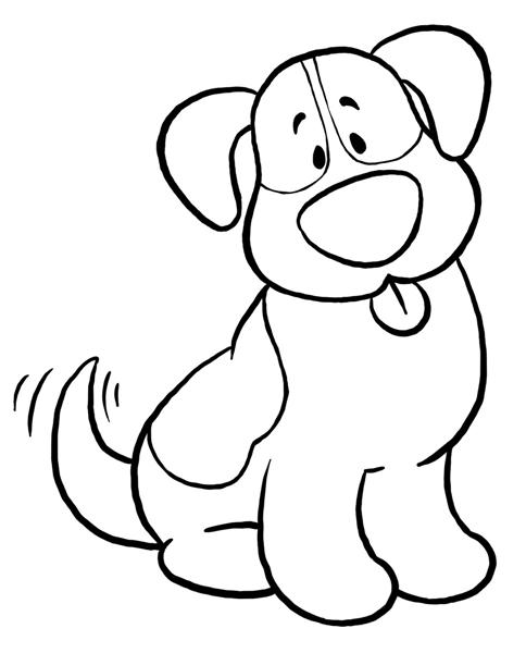 Free Black And White Dog Clipart, Download Free Clip Art