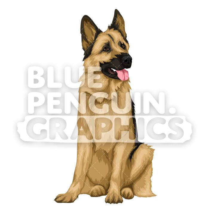 German Shepherd version