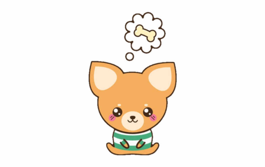 Banner Transparent Kawaii Clipart Dog