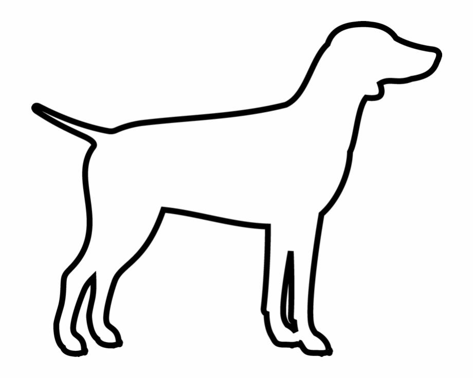 Dog outline png.
