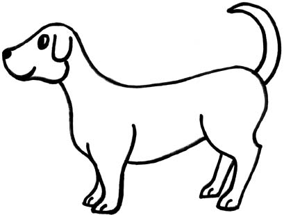 Free Dog Outline Cliparts, Download Free Clip Art, Free Clip