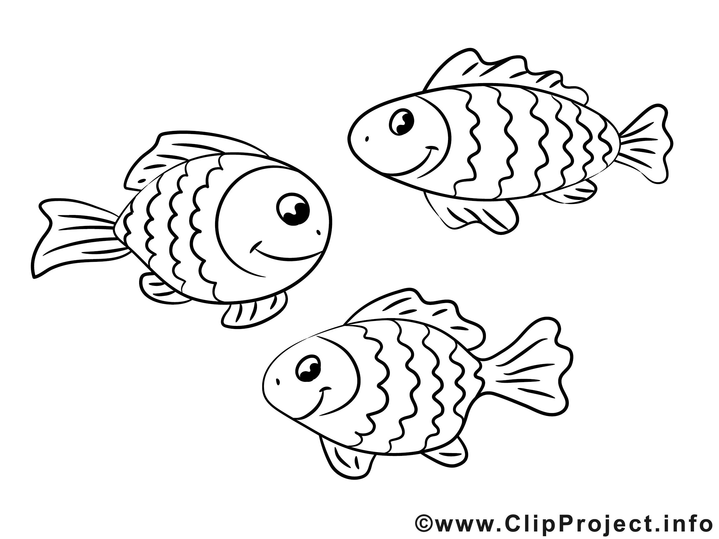 Fische clipart schwarz.