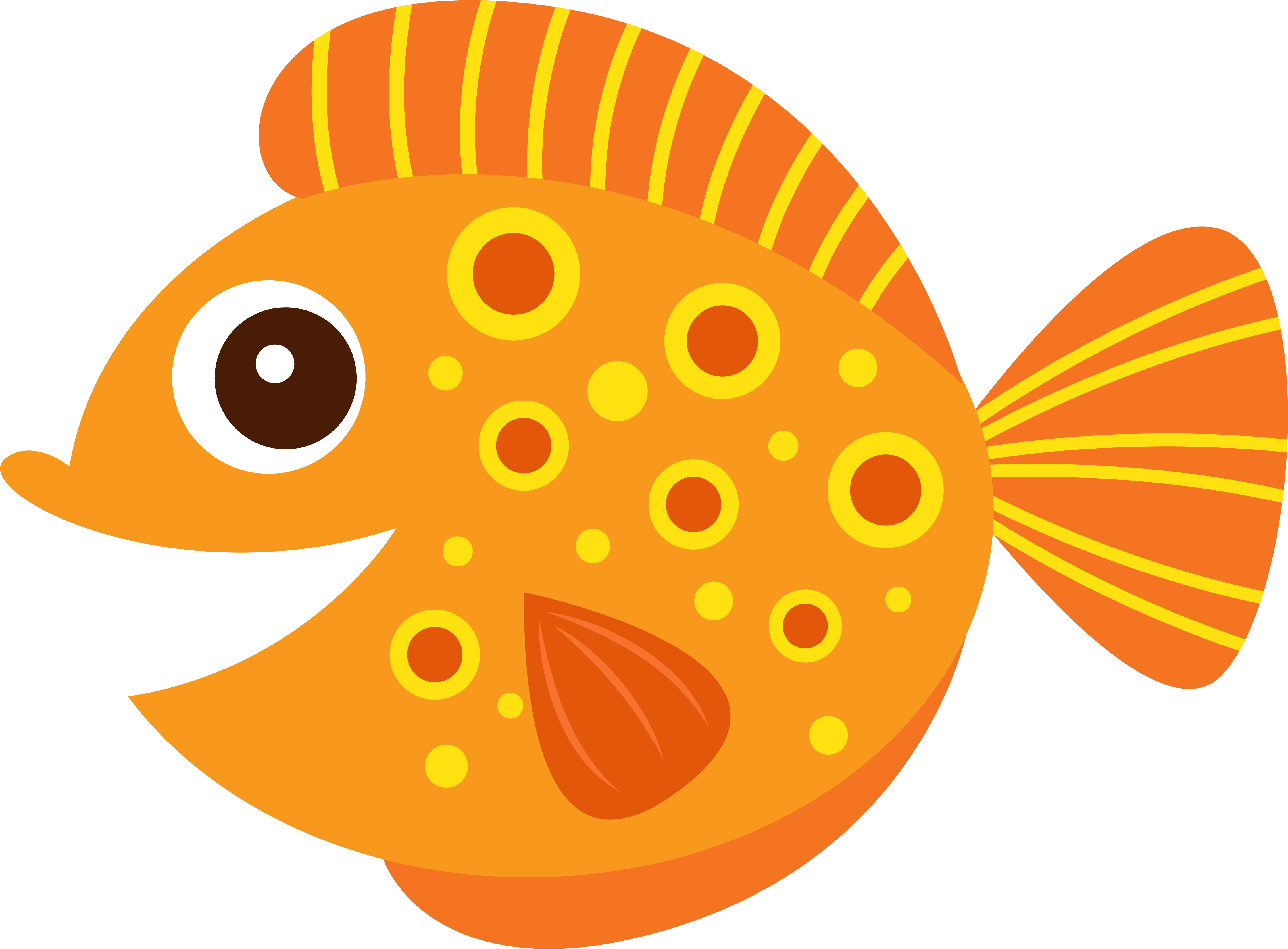 Fish png clipart.
