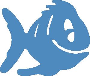 Fish icon clip.