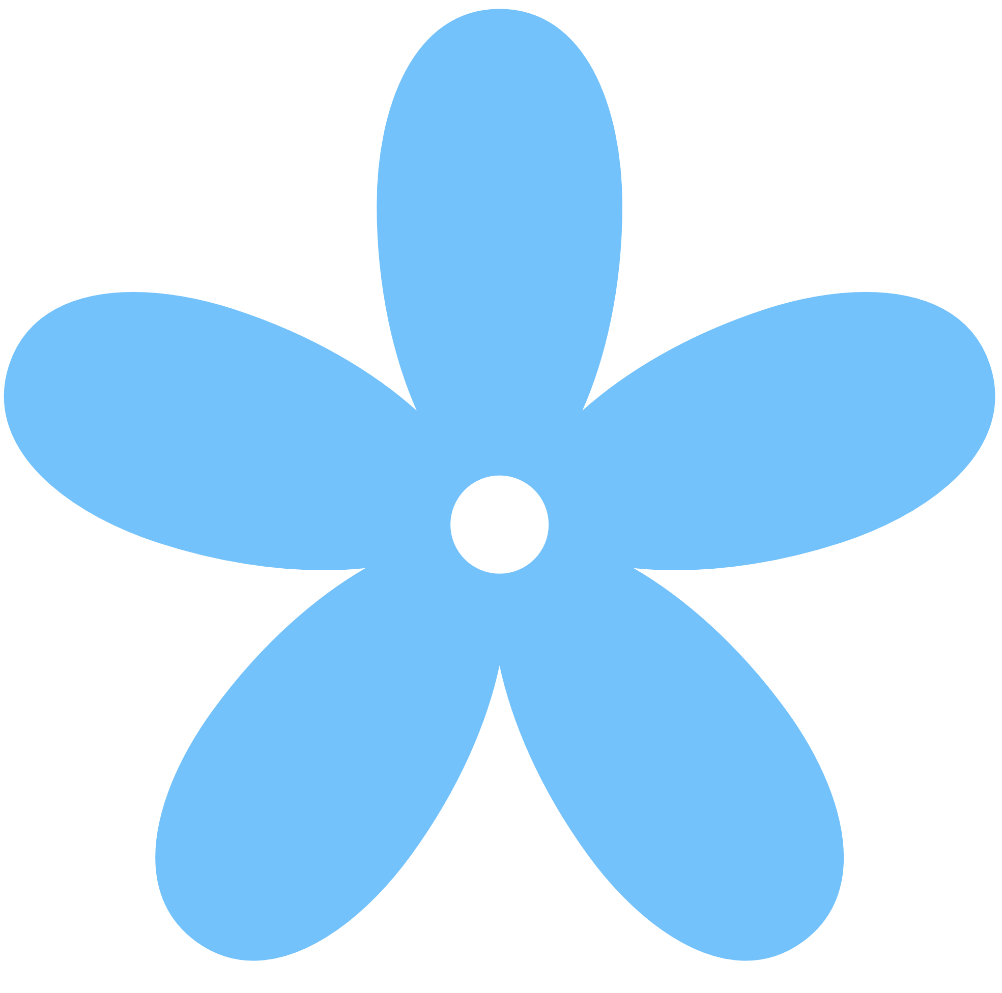 Free Blue Flower Clipart, Download Free Clip Art, Free Clip