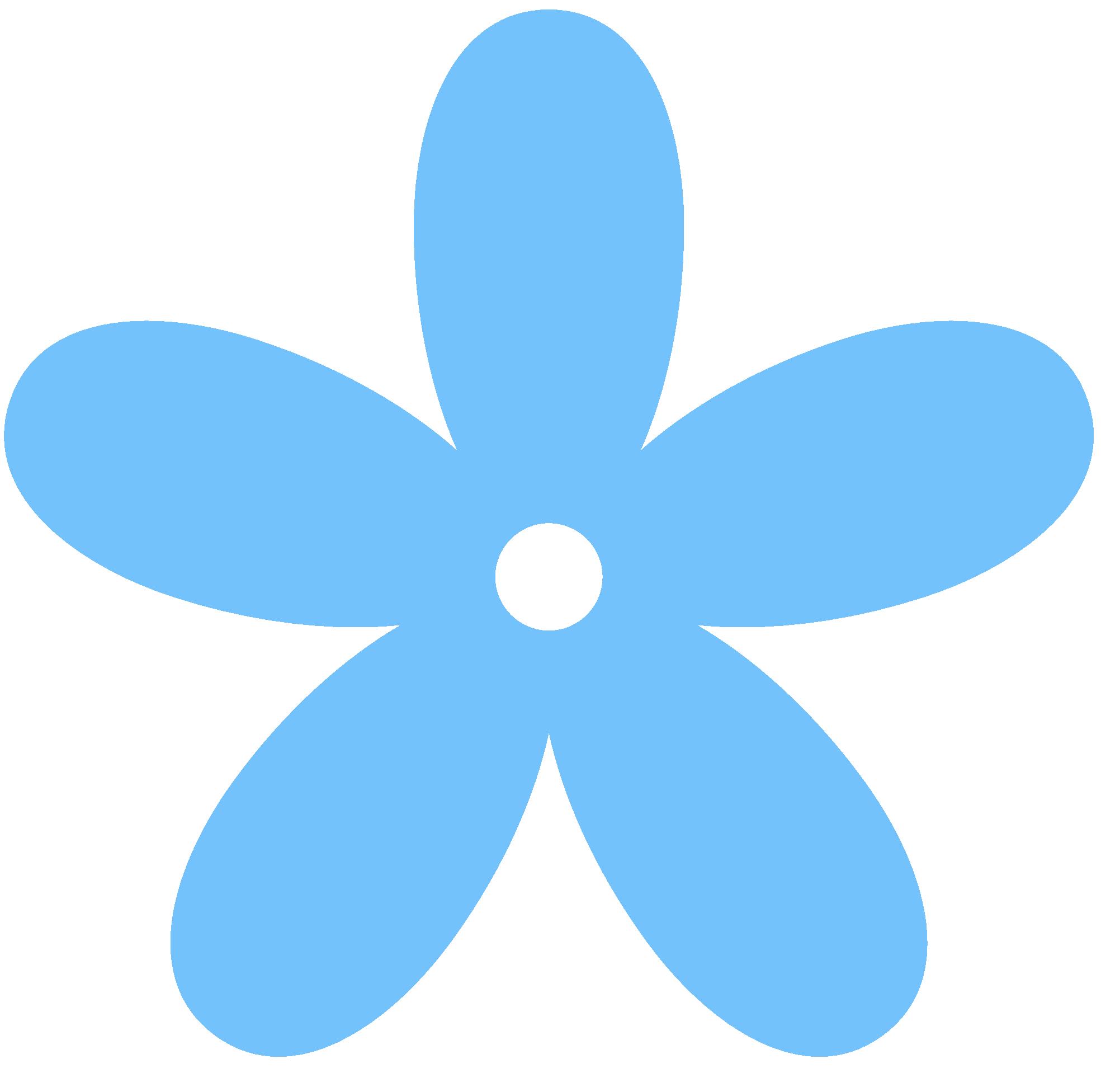 Free blue flower.